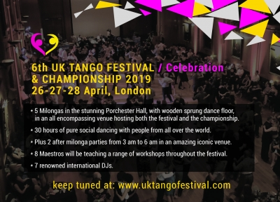 UK Tango Festival & Champion 2017 in 16 days